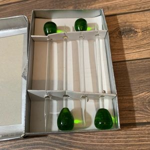 Finlandia Vodka Glass Olive Picks